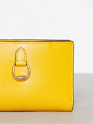 Lauren Ralph Lauren New Compact Wallet Small Sunflower