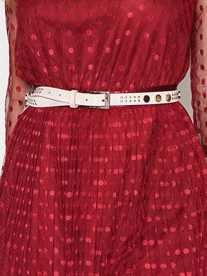 Bälten & skärp - NLY Accessories Studded belt Beige