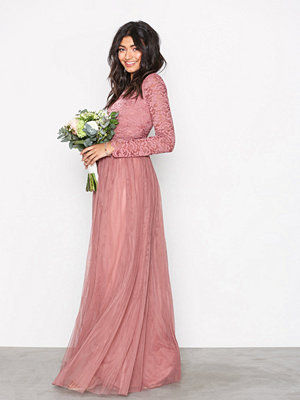 NLY Eve Lace Dream Gown Rose