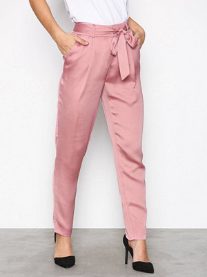 NLY Trend gammelrosa byxor Fancy Tied Pants Rosa