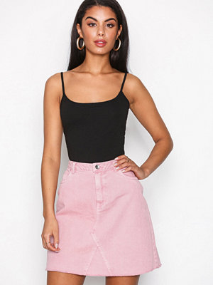 Vero Moda Vmcarolyn Hw Ashape Color Skirt Rosa