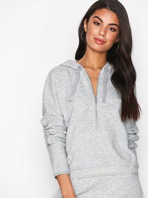 Pyjamas & myskläder - Calvin Klein Underwear Zip Hoodie Grå