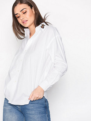 Polo Ralph Lauren Long Sleeve Relaxed Pocket Shirt White