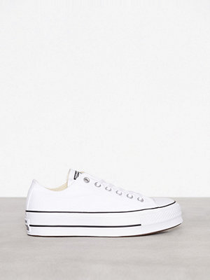 Sneakers & streetskor - Converse Chuck Taylor All Star Lift Ox Vit