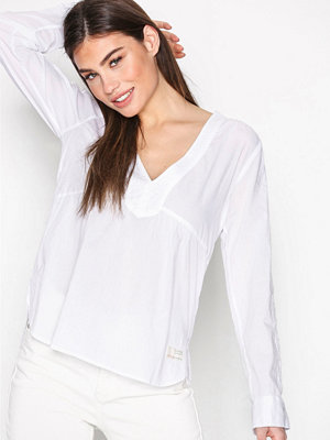 Blusar - Odd Molly Best Self L/S Blouse Bright White