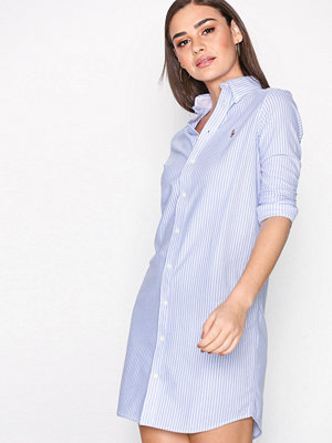 Polo Ralph Lauren Stripe Casual Dress Blue