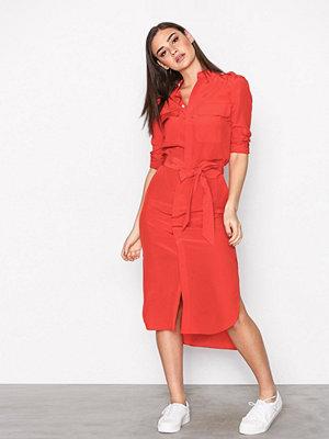 Polo Ralph Lauren Long Sleeve Dress Red