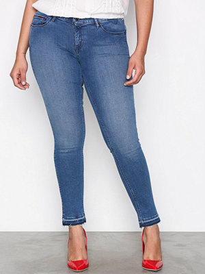 Tommy Jeans Mid Rise Skinny Nora Mid Blue