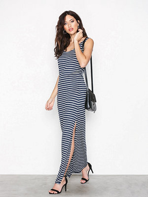 Vila Videana S/L Maxi Dress-Noos Total Eclipse