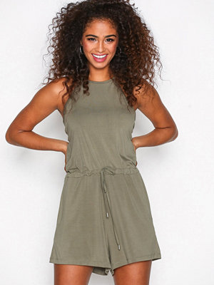 Dr. Denim Zinaida Playsuit Green