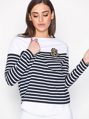 Lauren Ralph Lauren Lien-Long Sleeve-Knit Navy