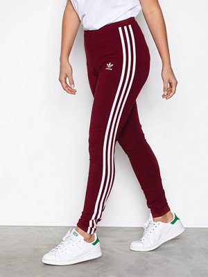 Adidas Originals 3STR Leggings Burgundy