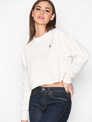 Polo Ralph Lauren Crop Long Sleeve Knit Nevis
