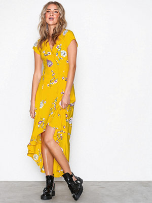 Free People Lost in you Midi Yellow