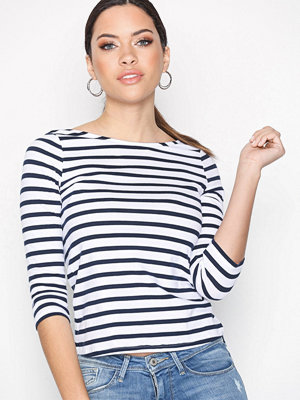 New Look Organic Cotton Mix 3/4 Sleeve T-Shirt Blue