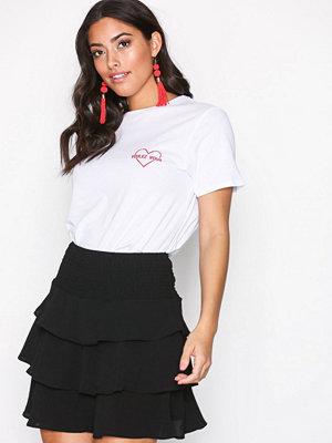 Vero Moda Vmsasha Frill Skirt Noos Svart