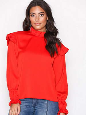 NORR Alvilda top Red