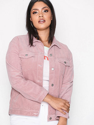 Dr. Denim Larissa Cord Jacket Pink