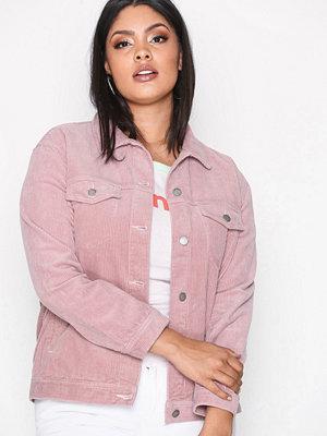 Dr. Denim Larissa Cord Jacket Pink