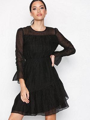 Y.a.s Yassevilay Ls Dress Mörk Blå