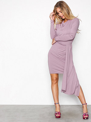 NLY Trend High low drapy dress Lila