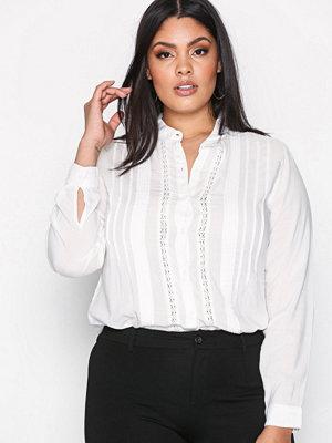 Skjortor - Wrangler Romantic Shirt Offwhite