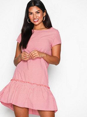 Jacqueline de Yong Jdyboost S/S Dress Wvn Röd