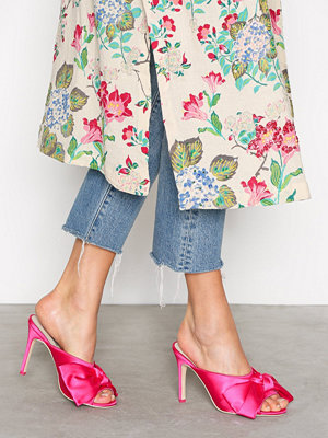 NLY Shoes Wrap Mule Pink