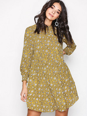 Jacqueline de Yong Jdybase New L/S Smock Dress Wvn Gul