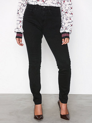 River Island Harper High Rise Jeans Black