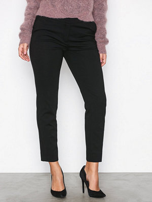 Dagmar svarta byxor Nelly Trousers Black