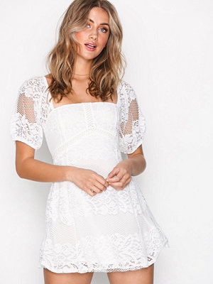 Free People Be Your Baby Lace Ivory