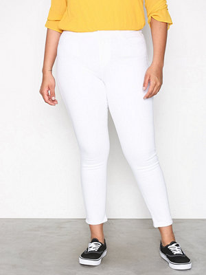 Wrangler High Skinny Crop White