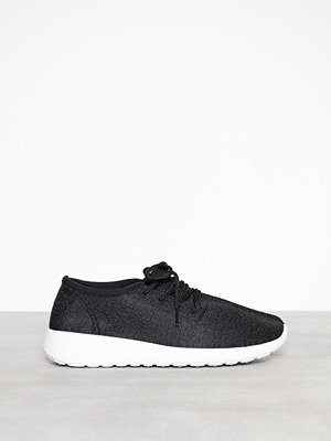 NLY Shoes Knitted Sneaker Svart