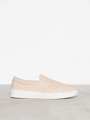 Sneakers & streetskor - Duffy Slip On Ljus Rosa