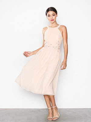 Little Mistress Embroidery Dress Light Beige