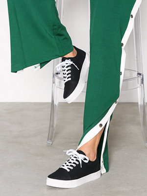 NLY Shoes Canvas Sneaker Svart