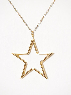 Blue Billie smycke Big Star Charm Guld