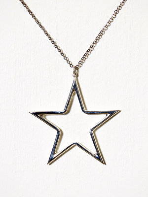 Blue Billie smycke Big Star Charm Silver