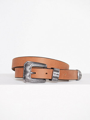 Bälten & skärp - Only onlDISKA Leather Belt Acc