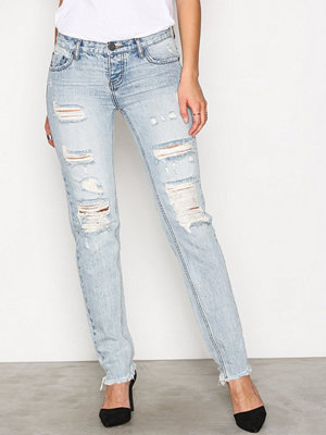One Teaspoon Straight Leg Jean Blue