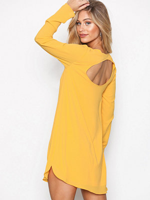 NLY Trend Long Sleeve Shift Dress Gul