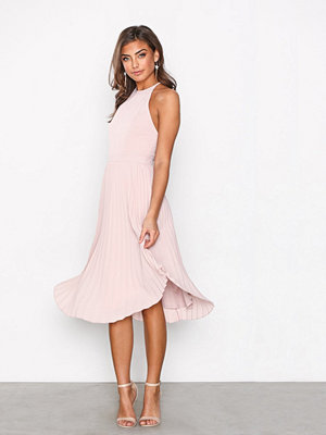 NLY One Lace Midi Dress Rose