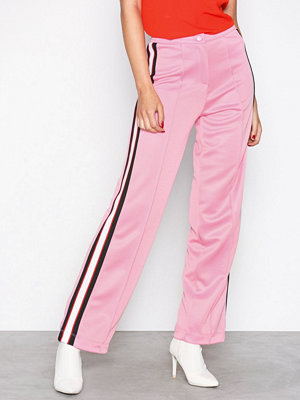 Topshop gammelrosa byxor Sugar Pink Track Trousers Pink