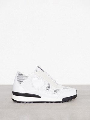Love Moschino Heart Sneaker Vit
