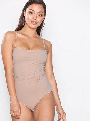 Filippa K Strap Swimsuit Pale