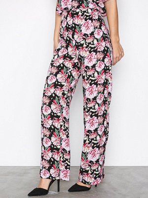 Only byxor Jdyvictory Wide Pant Wvn Svart