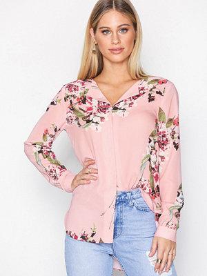 Vila Vilucy L/S Shirt - Fav Ljus Rosa