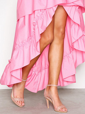 NLY Shoes Heel Sandal Rosa/Guld