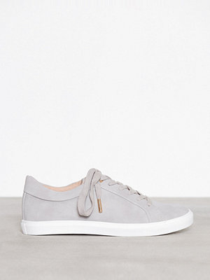 Topshop Cookie Lace Up Trainers Grey